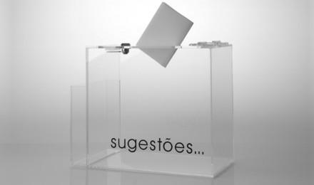 Utilitários - Caixa de Sugestões
